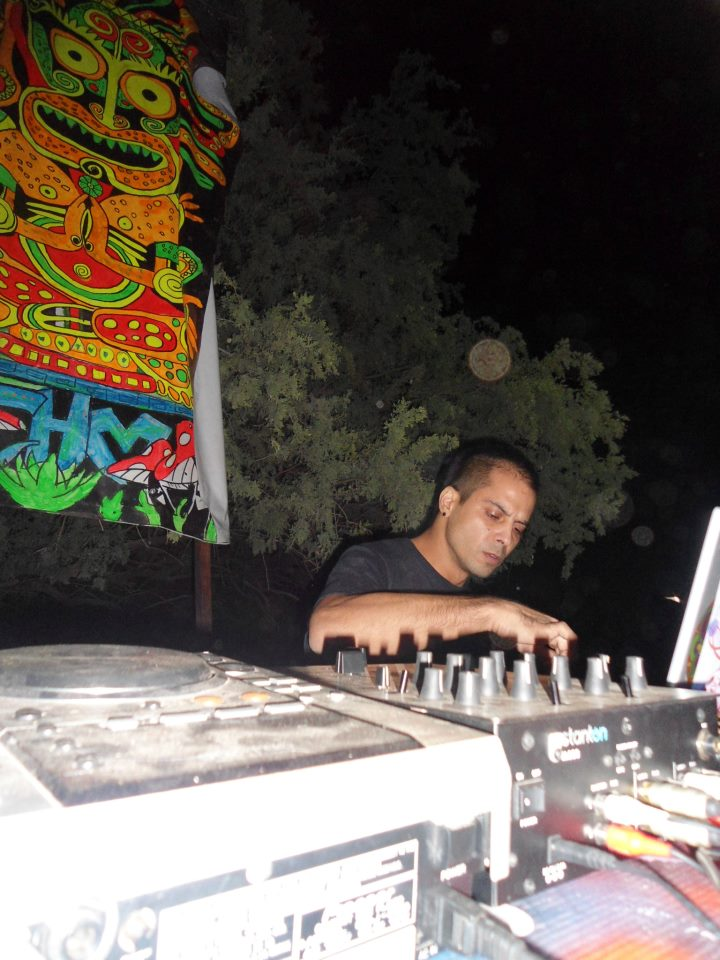 psychedelic trance sonic tantra artist from mexico