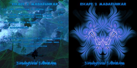 neological vibration psytrance album