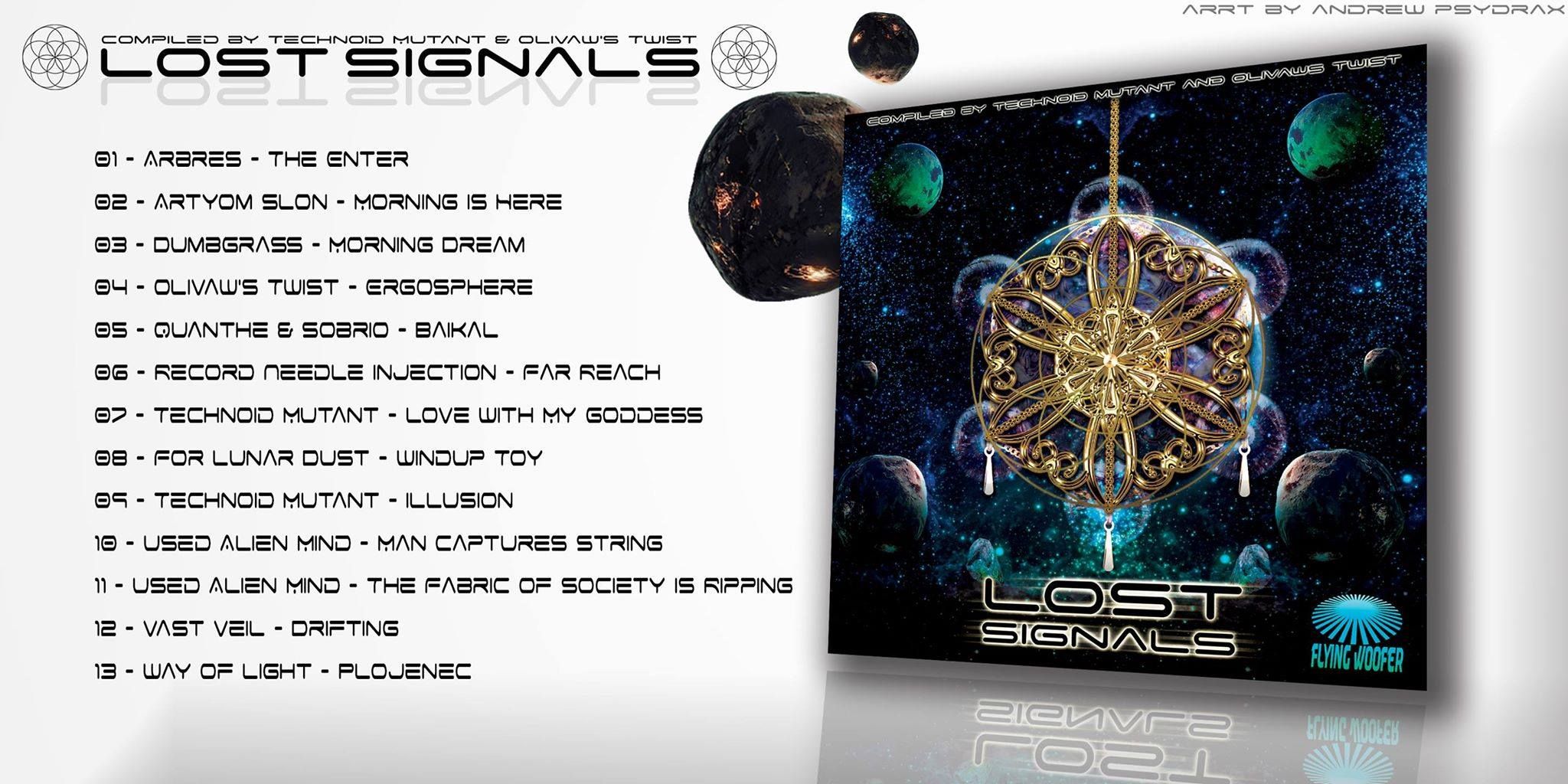 VA – Lost Signals – Flying Woofer Recs – Out now!