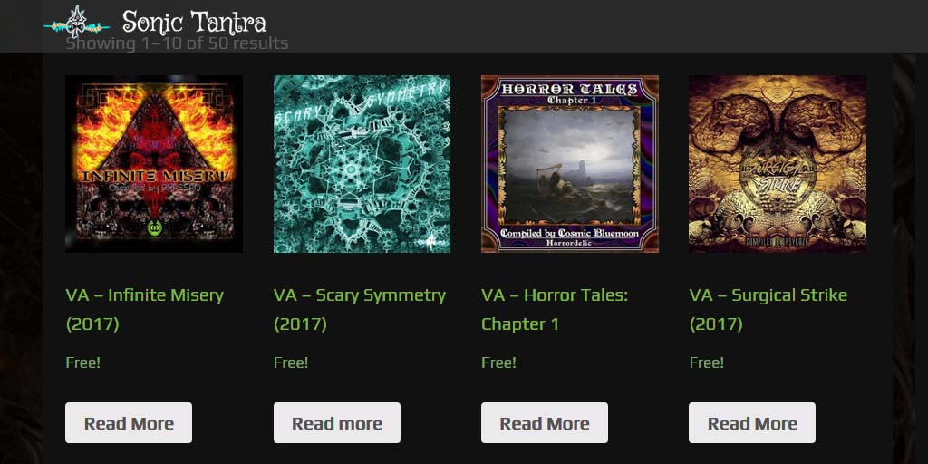 4 New DarkPsy / Psycore / Hi-Tech Psy albums for FREE!