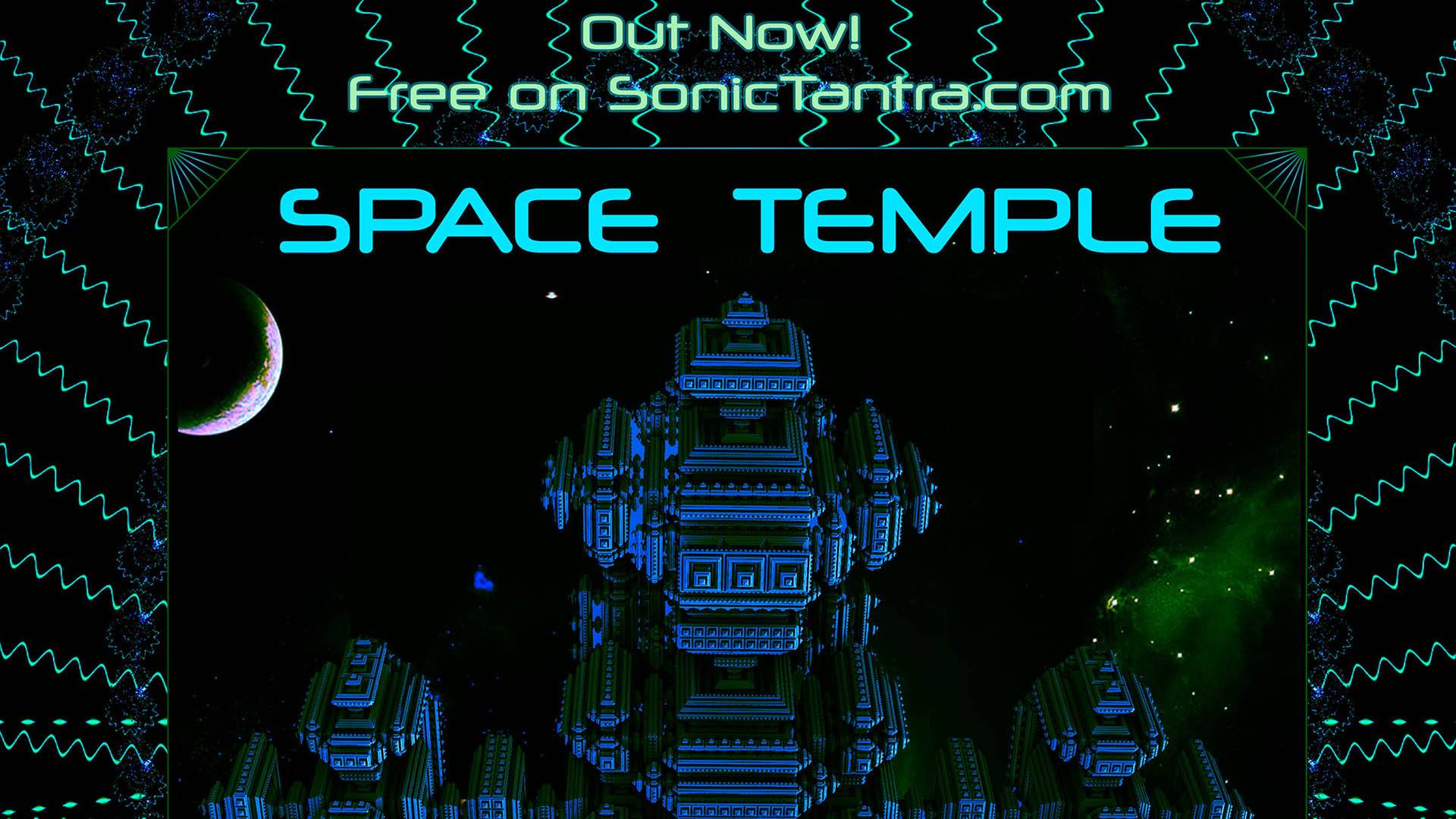 space temple - best hitech psytrance darkpsy album 2019-2020